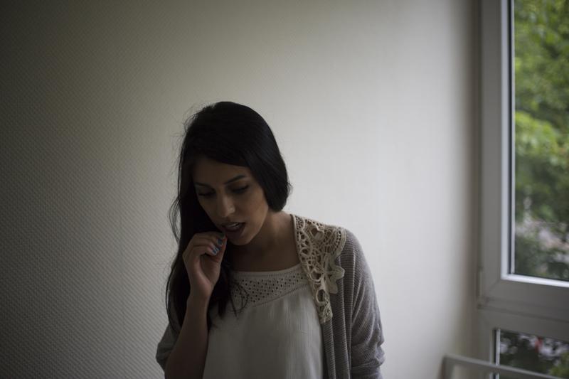 Flüchtlingsmädchen Baran